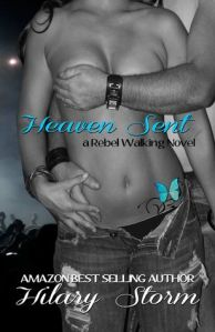 **Cover Re-Reveal** Heaven Sent by Hilary Storm